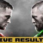 Результаты турнира UFC 257: Конор МакГрегор — Дастин Порье 2